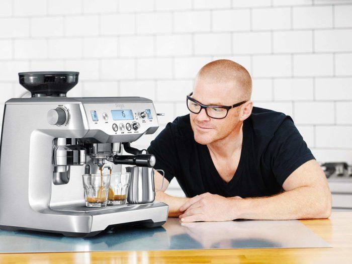 COFFEE MACHINE: SAGE BY HESTON BLUMENTHAL