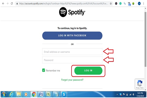 Add Spotify Web Player extension