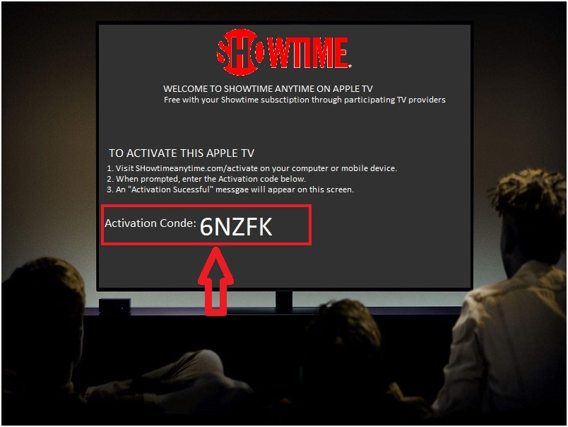 showtime anytime com activate step