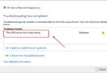DNS Server error
