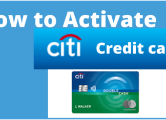 Activate a Citi Credit Card
