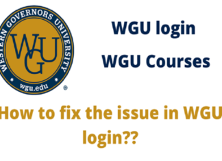 WGU login