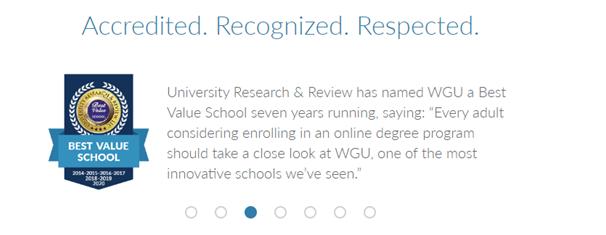 WGU login review
