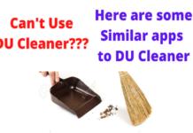 alternatives to DU Cleaner