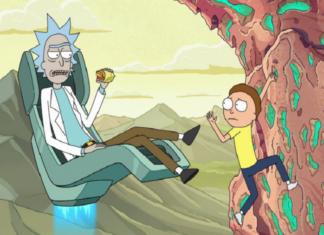 Rick and MortyKisscartoon